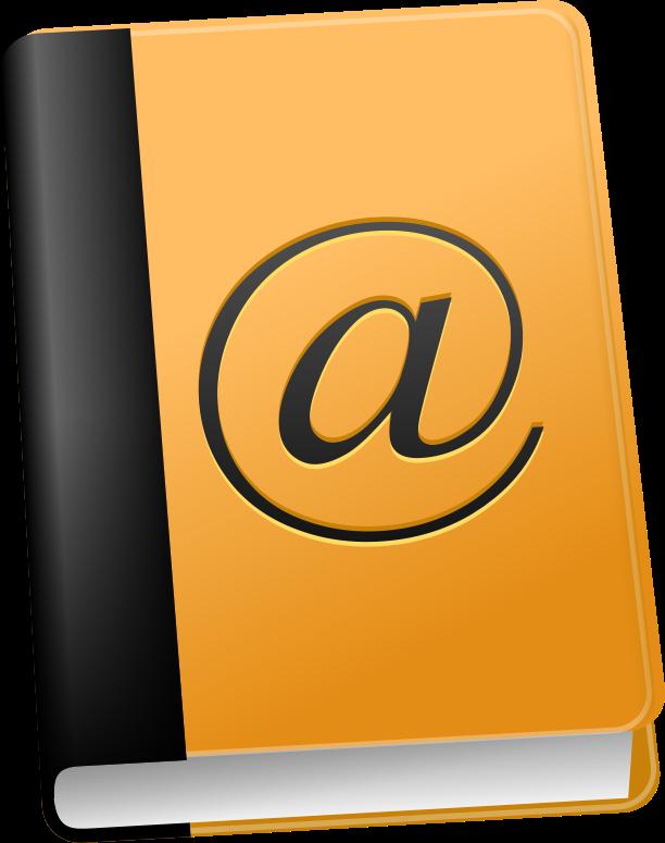 Address Book Clipart Cliparthut Free Clipart #BUR3X2.