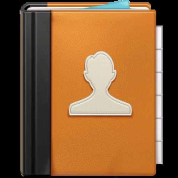 Address Book Clipart.