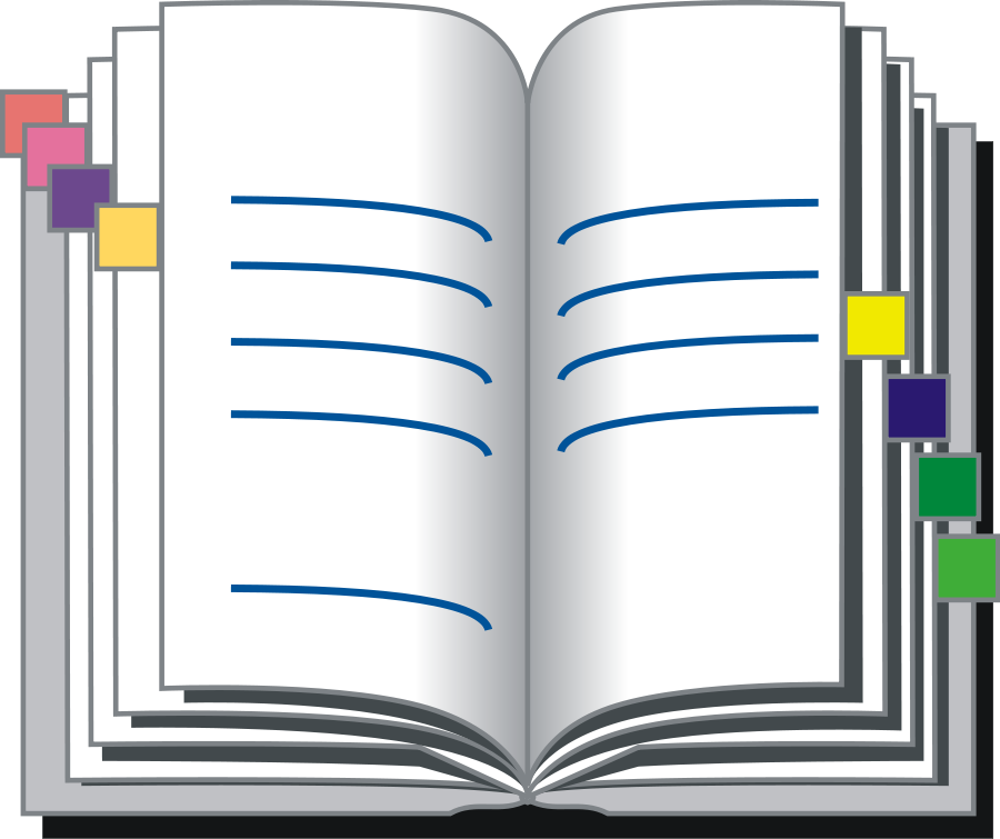 Address Book Clipart, vector clip art online, royalty free design.