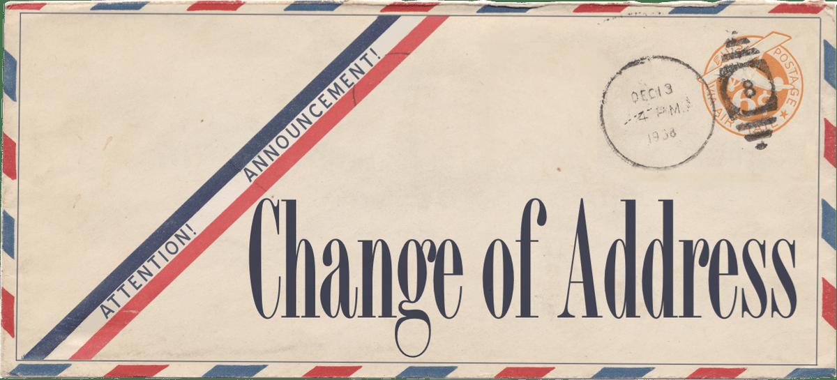Change of address clipart 2 » Clipart Portal.