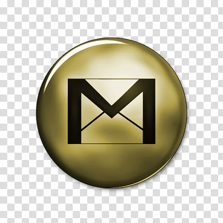 Network Gold Icons, gmail.