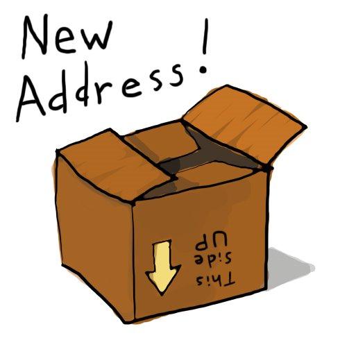 Home address clip art.