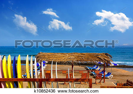 Stock Images of Adeje Beach Playa Las Americas in Tenerife.
