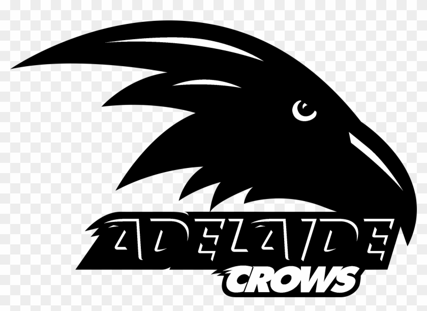 Adelaide Crows Logo Black And White.
