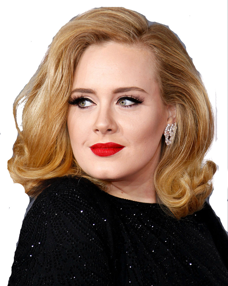 Adele PNG Images Transparent Free Download.