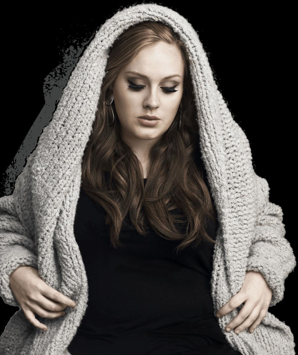 Adele Pullover transparent PNG.