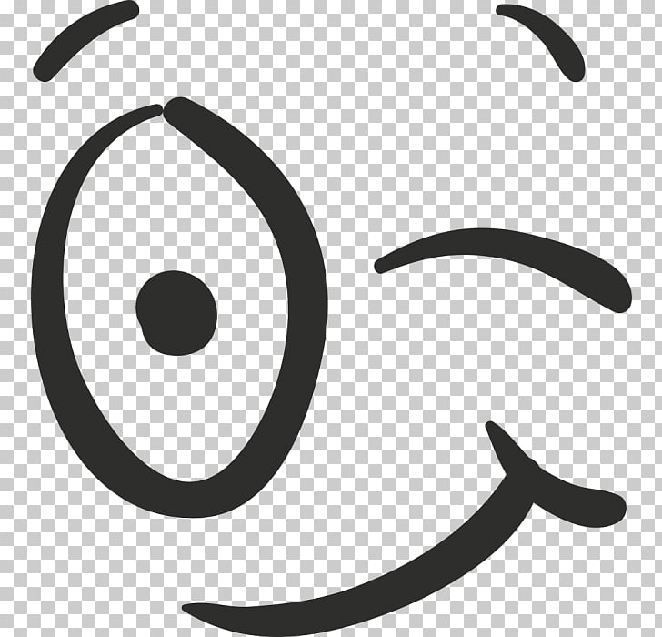 Wink Emoticon Eye Sticker Smile, adhere to PNG clipart.