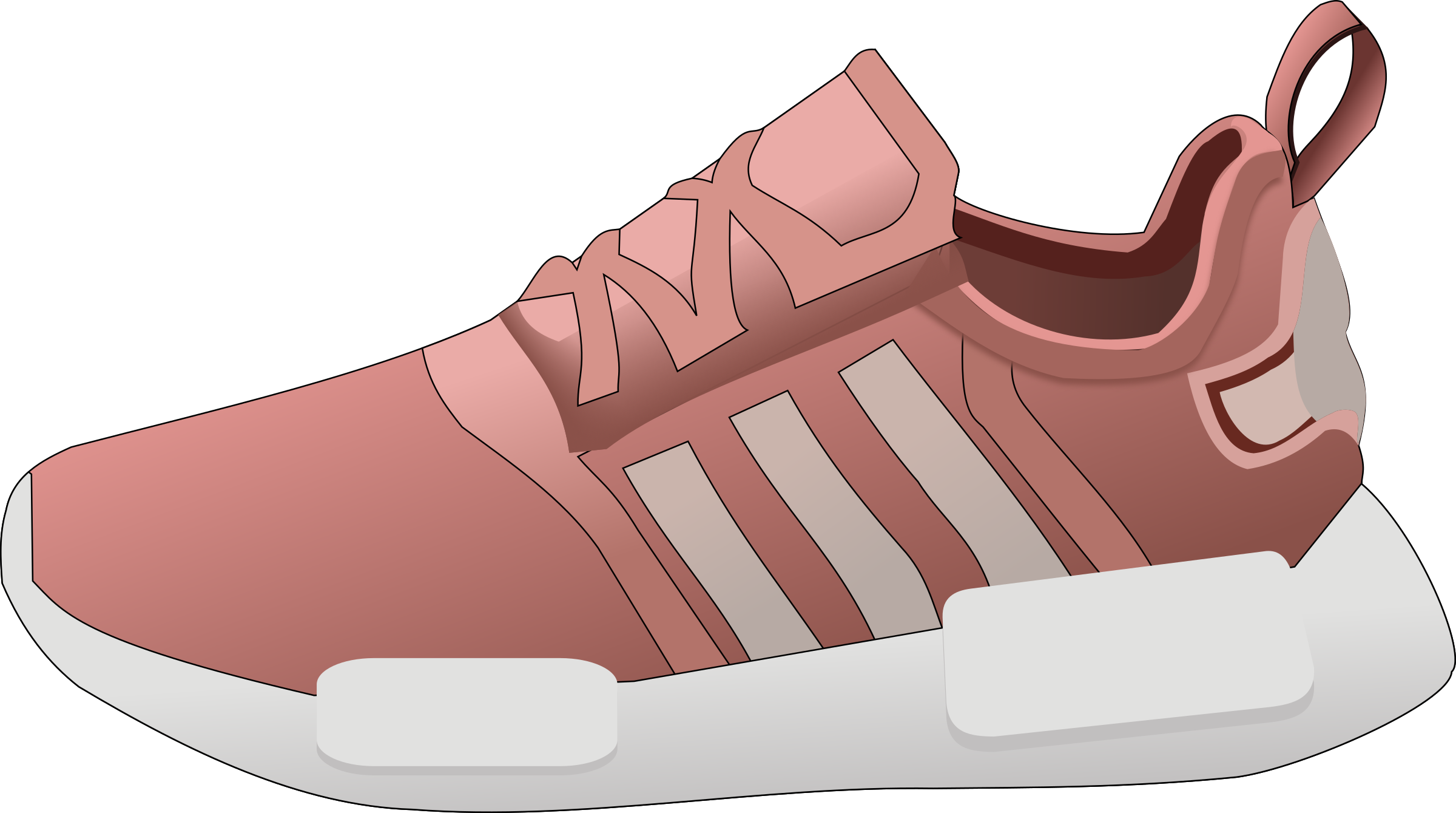 Shoe Sneakers Adidas Clip art.