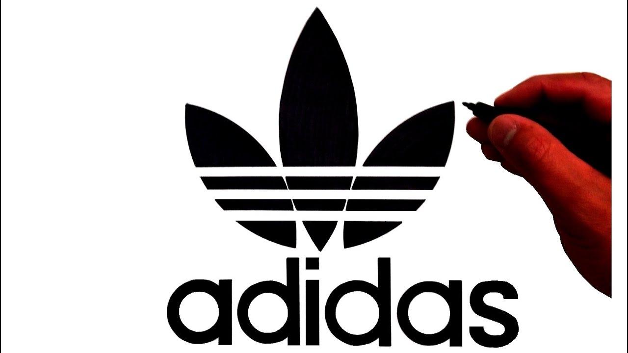 How to Draw the Original Adidas Trefoil Logo.
