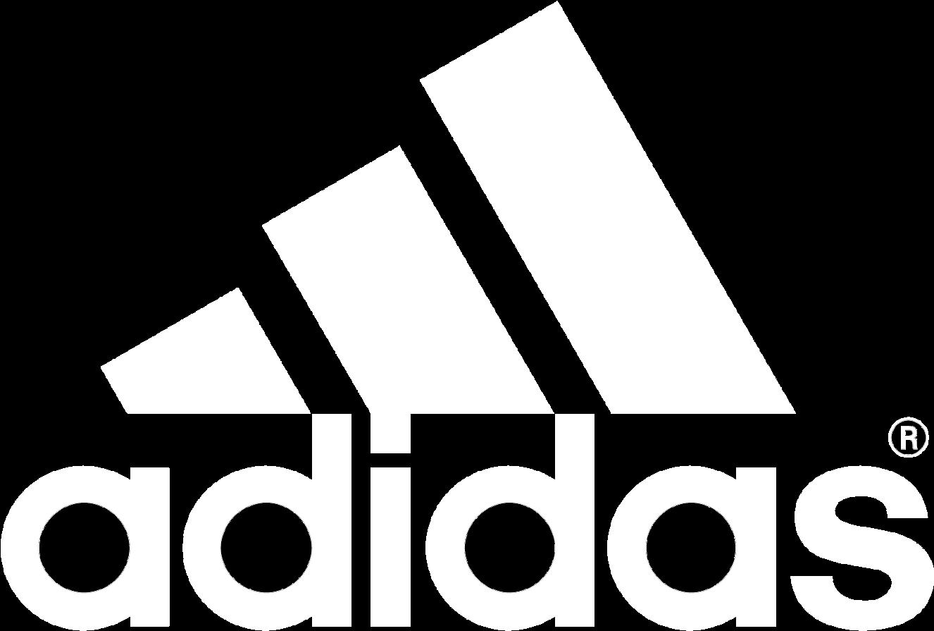 Adidas Logo White Png Circle.