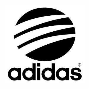 Adidas Round logo svg cut file.