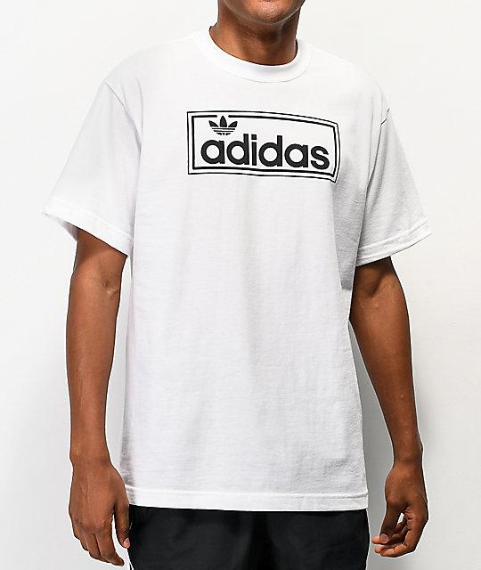 adidas New Icon Logo White T.