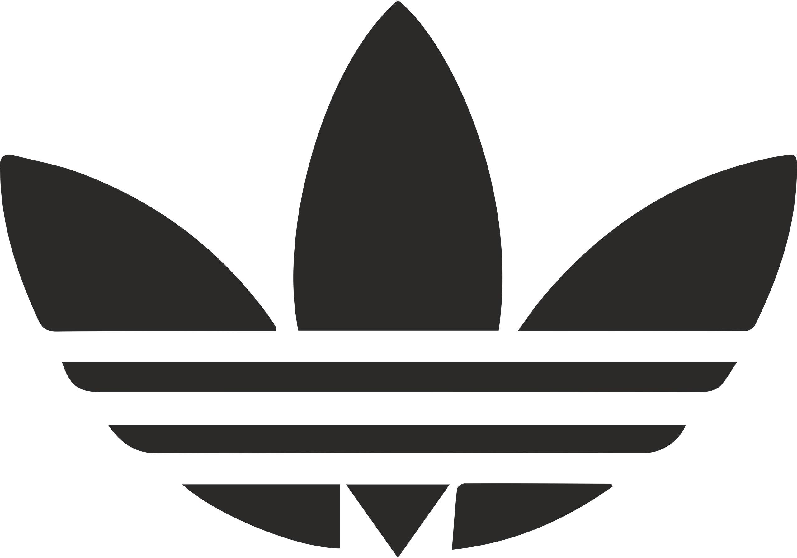 Adidas Logo Vector Free Vector cdr Download.