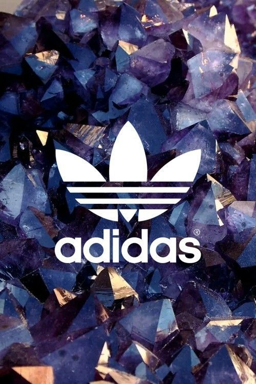 Adidas logo wallpaper gold shared by Moody75 ♢.