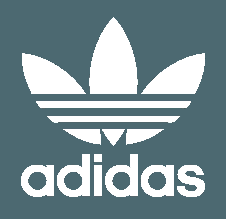 White Adidas Originals Logo.