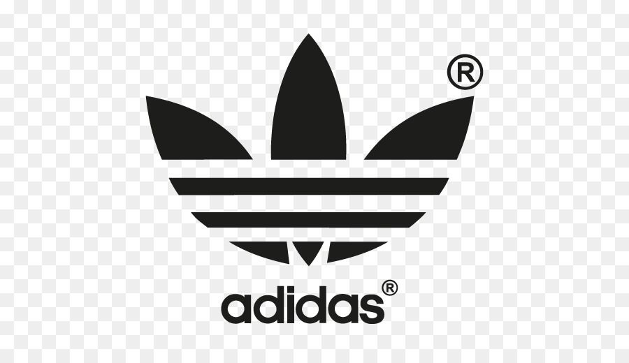 White Adidas Originals Logo.