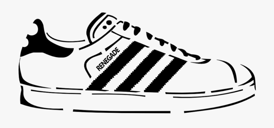 Clipart Royalty Free Download Adidas Vector Shoe.