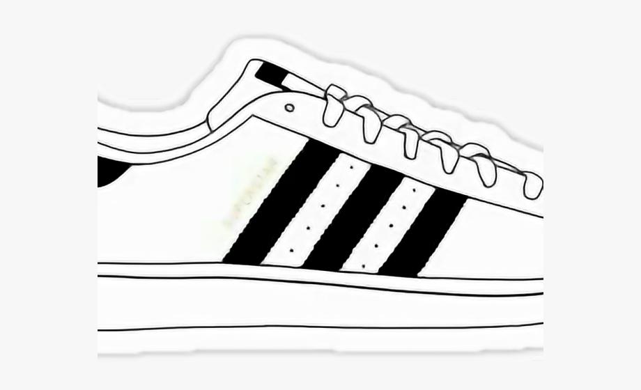 Adidas Shoes Clipart Art.