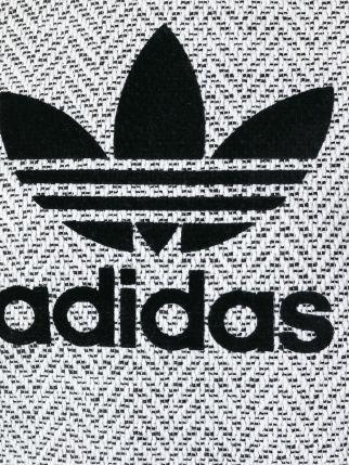 Adidas Trefoil Logo Print Sweatshirt.