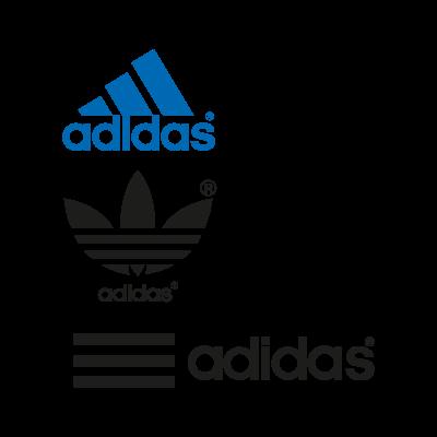 Adidas logos vector (EPS, AI, CDR, SVG) free download.