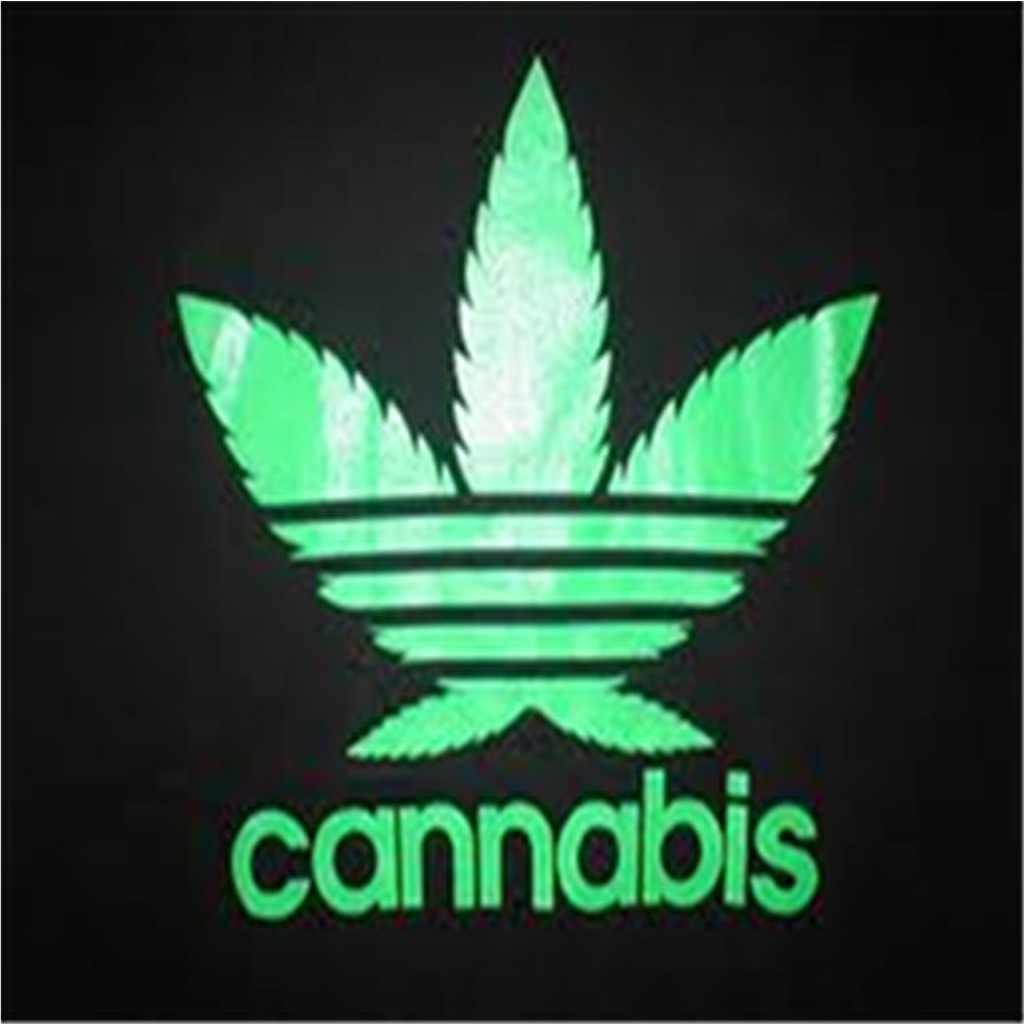 Adidas weed Logos.