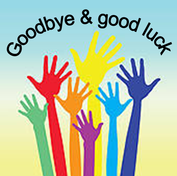 Goodbye And Good Luck Clipart.