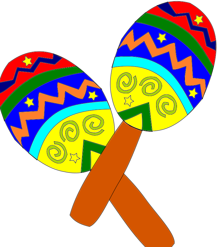 Mexican Clip Art Saying Adios Amigos.