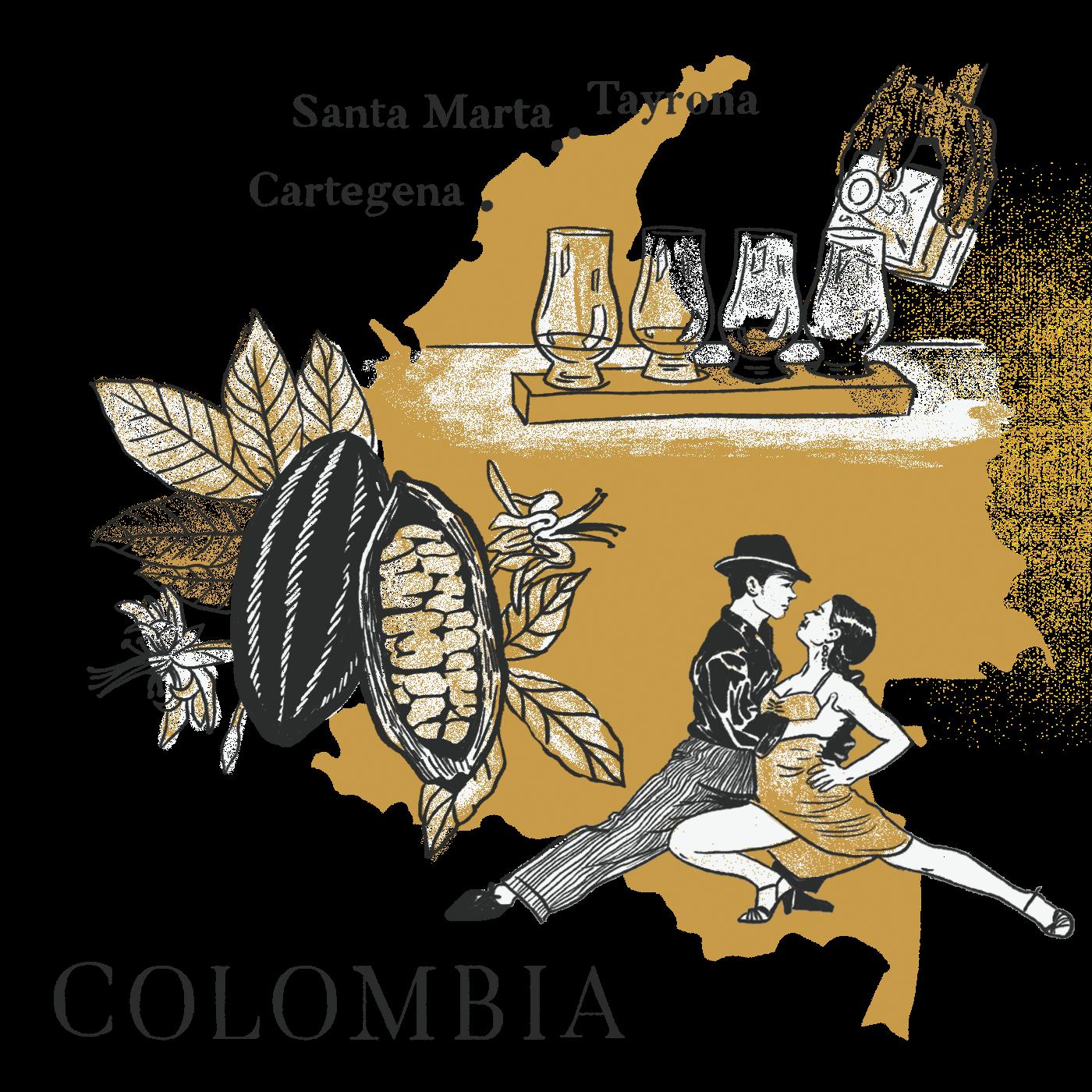 Colombia with Dandelion Chocolate & Traci Des Jardins.