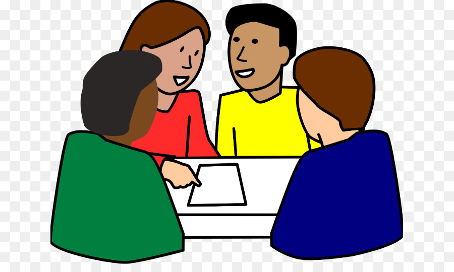 Conversation clipart group work Transparent pictures on F.