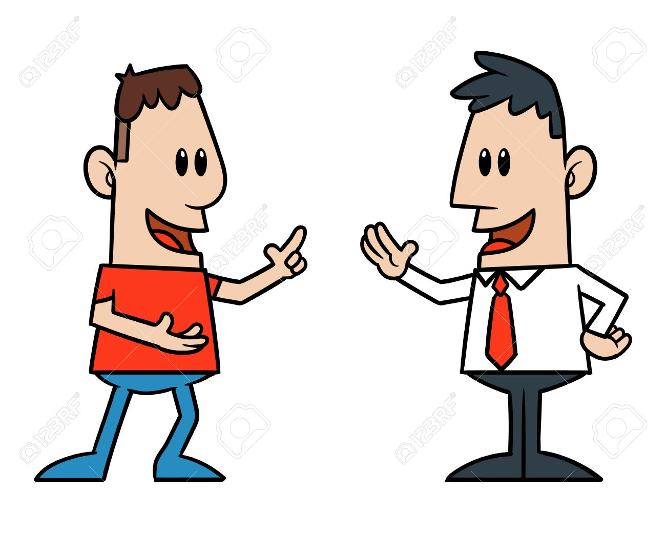 Conversation clipart two man Transparent pictures on F.