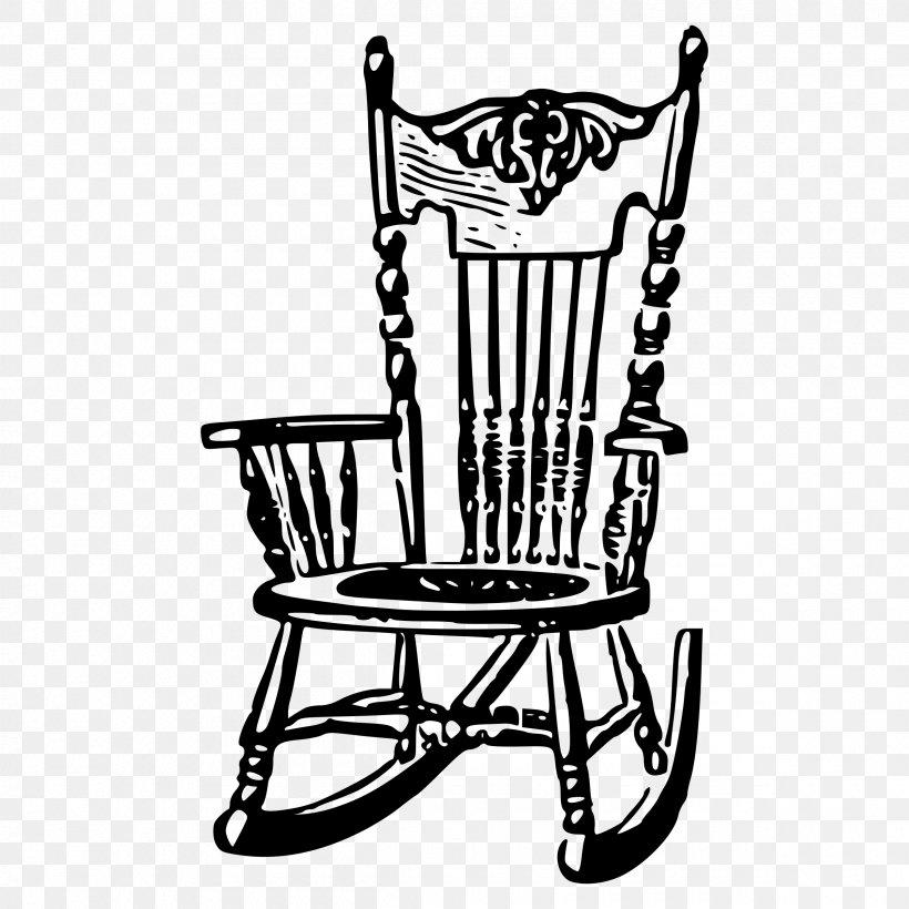 Rocking Chairs Adirondack Chair Clip Art, PNG, 2400x2400px.