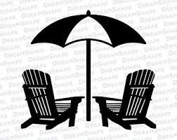 Image result for adirondack chair svg.