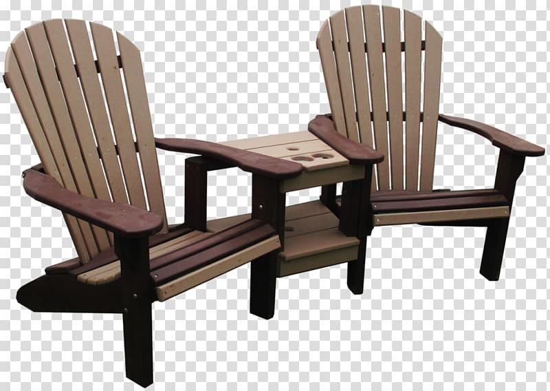 Table Garden furniture Adirondack chair, child swing.