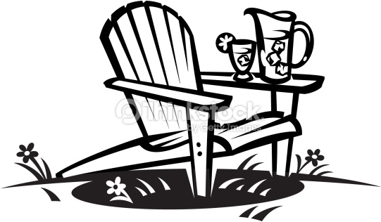 Adirondack Chair Clipart.