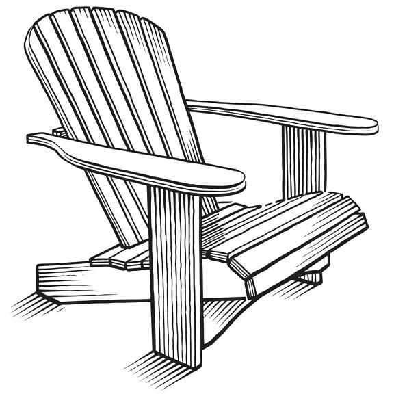 Adirondack chairs clipart 8 » Clipart Station.
