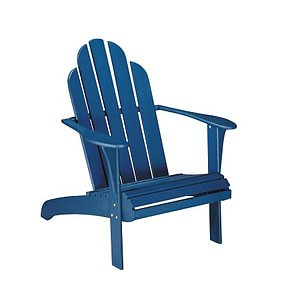 Blue Adirondack Chair.