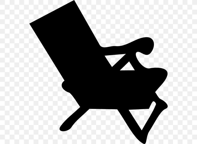 Chair Silhouette Beach Clip Art, PNG, 576x599px, Chair.