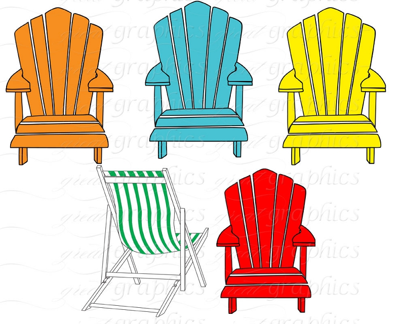 Images For Adirondack Beach Chair Clipart Macbook Clipart.
