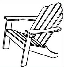 Free Adirondack Chair Clipart.