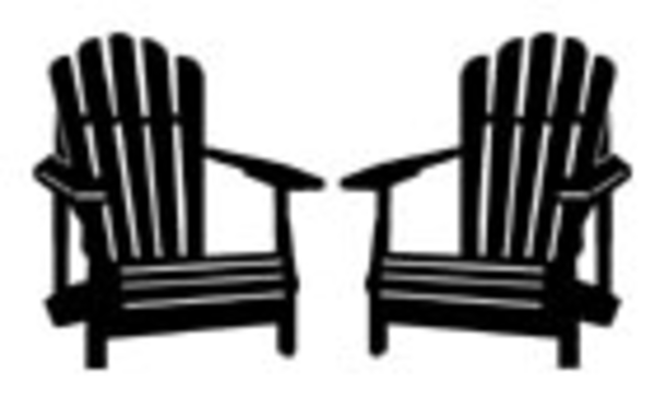 Adirondack chairs clipart free.