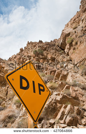 Caution Cliff Stock Photos, Royalty.