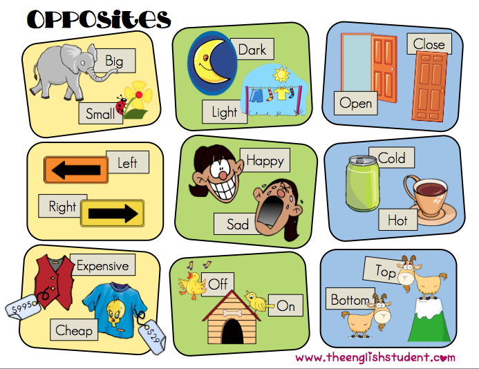 Adjective Words Clipart.