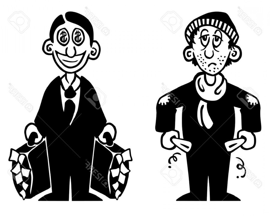 Download poor rich adjectives clipart Wealth Clip art.
