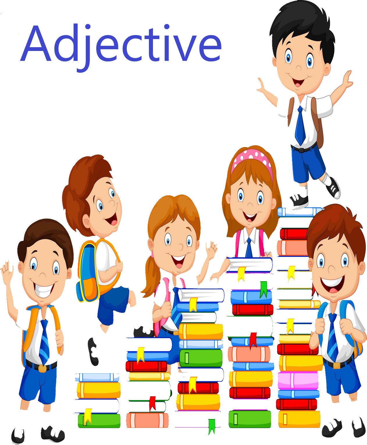 Cursive Adjectives worksheets.
