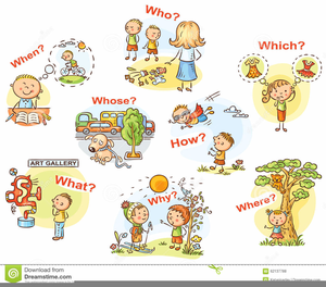 Spanish Adjectives Clipart.