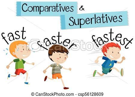 Comparison of adjectives clipart 5 » Clipart Portal.
