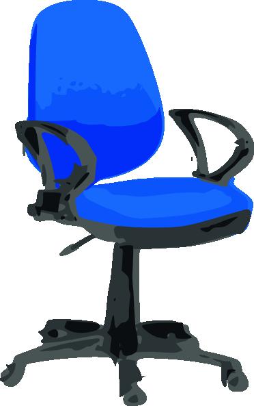 Swivel chair clipart.