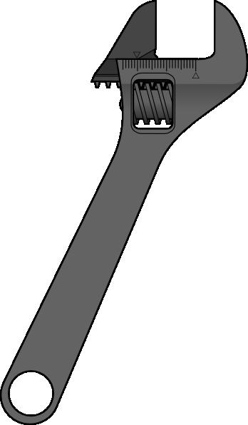 Method Adjustable Wrench clip art Free Vector / 4Vector.