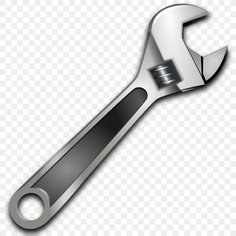 Adjustable Spanner Spanners Tool Clip Art, PNG, 1024x1024px.