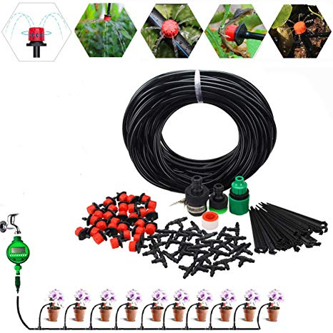 Amazon.com : lychee Irrigation Watering System 82ft DIY.